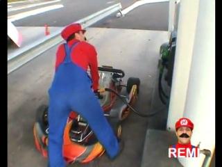 Марио настоящий!